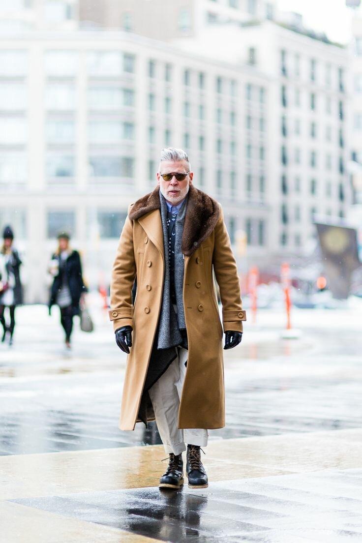 Иностранцы знают толк в моде. /Фото: i.pinimg.com