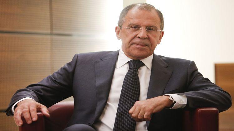Глава МИДа РФ Сергей Лавров …