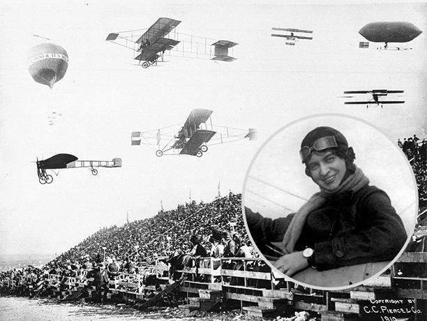 Любовь в небе: как актриса стала авиатрисой и прославила Россию