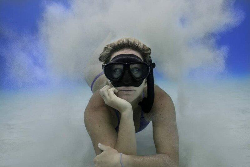 """""""Большой и синий океан"""": фотограф-фридайвер показал удивительную серию подводных кадров дайверы, дайвинг, красиво, море, подводные фото, подводный мир, природа, фото"""