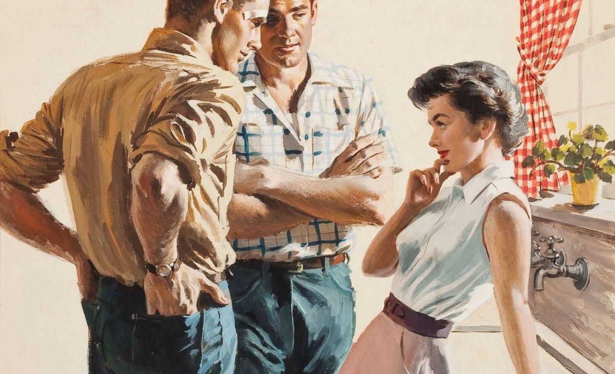 отношения мужа к жене после формата мжм плотно