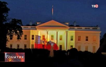 """Спецслужбы США расследуют появление """"вежливых танков"""" в Белом Доме"""