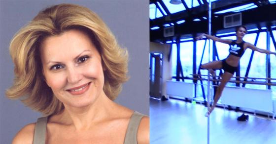 """51-летняя звезда передачи """"Принцип домино"""" научилась танцевать на шесте"""