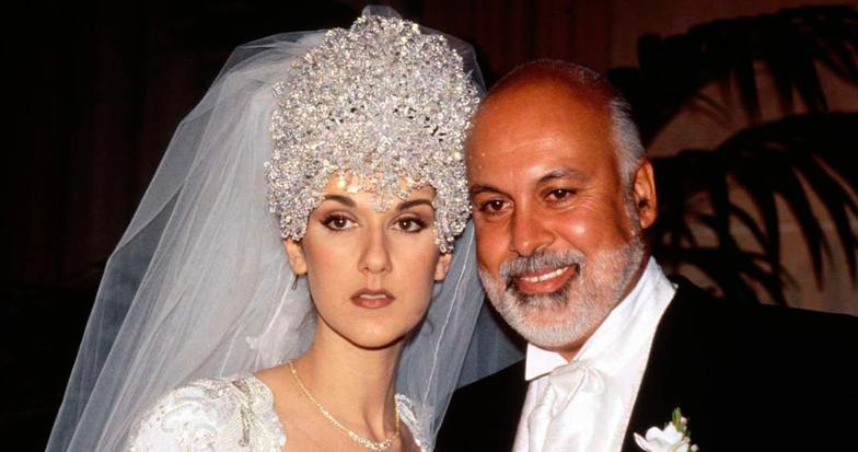 Свадебный наряд знаменитой Селин Дион признан одним из самых красивых! Это платье для Золушки!