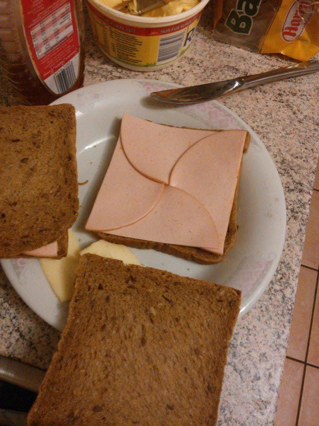 17. Этот идеальный сэндвич вещи, идеально, перфекционист