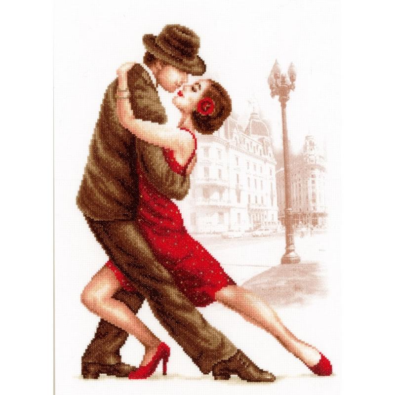 Схемы вышивание танго