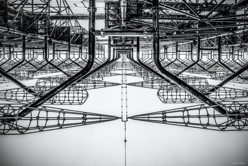 ЗГРЛС «Дуга–1» — забытый объект Чернобыльской зоны отчуждения ЧЗО, Чернобыль 2, дуга, радиолокационная станция, чернобыльская зона отчуждения, эстетика