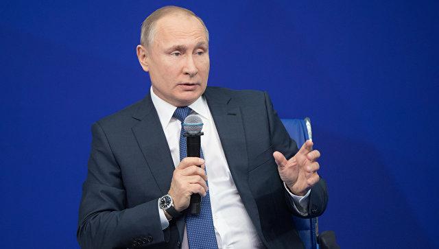 Договориться с Россией с помощью хамства не получится, заявил Путин