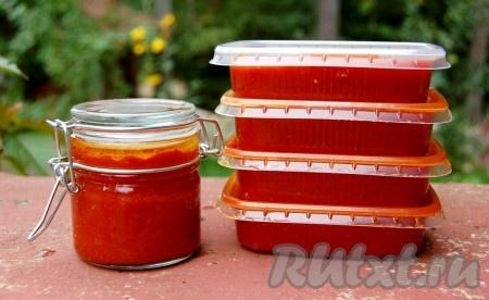 Рецепт томатной пасты на зиму - рецепт с фото