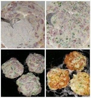 Фото к рецепту: Куриные котлетки по-французски