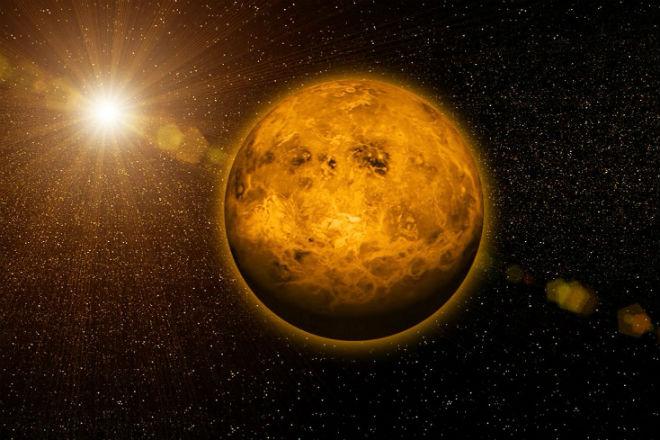 Венера: дьявольский мир на орбите Солнца астрономия