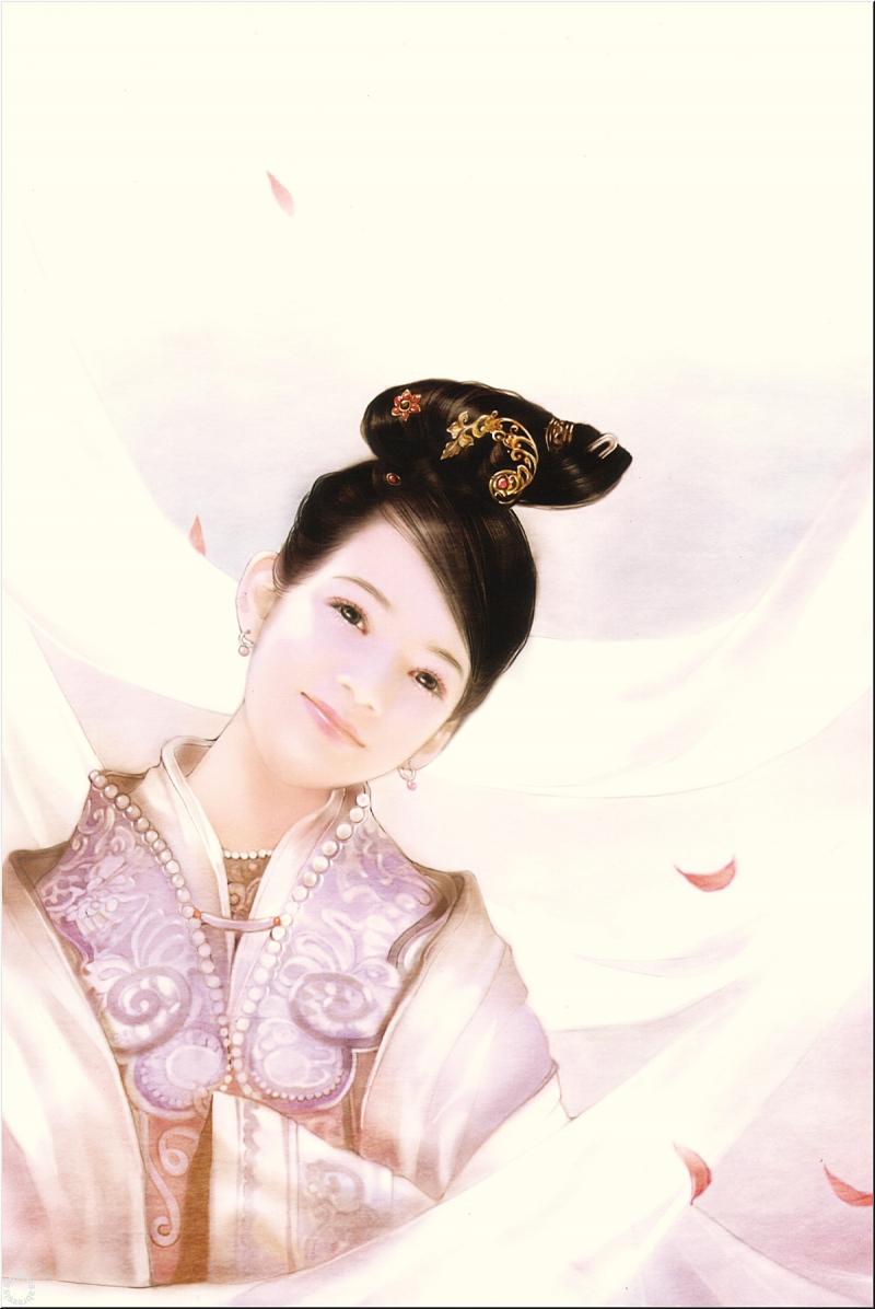 Тайваньская художница Дер Джен (Der Jen, Chine)... Делай что должен, а Будда учтет