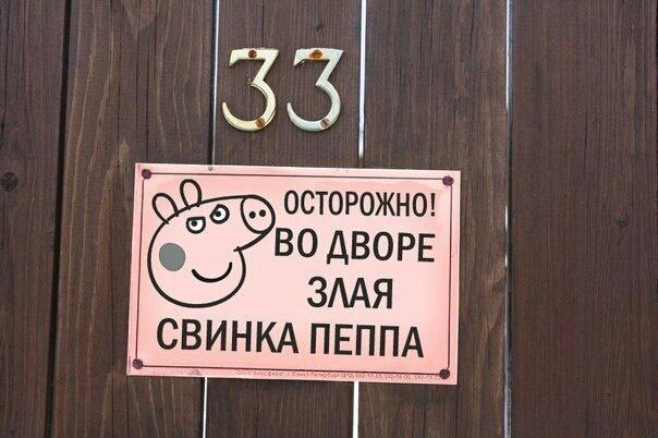 Злая свинья