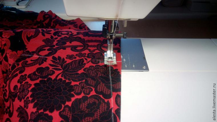Мастер-класс: пошив платья от Dolce & Gabbana! Очень красиво!