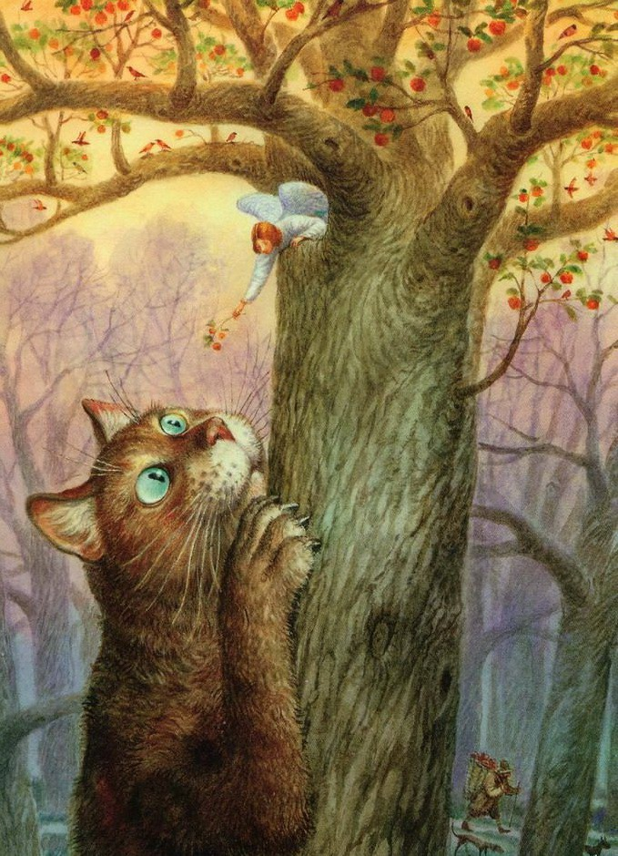 Старым новым, картинки коты румянцева