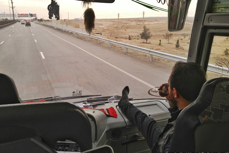 Путешествие по Ирану на автобусе