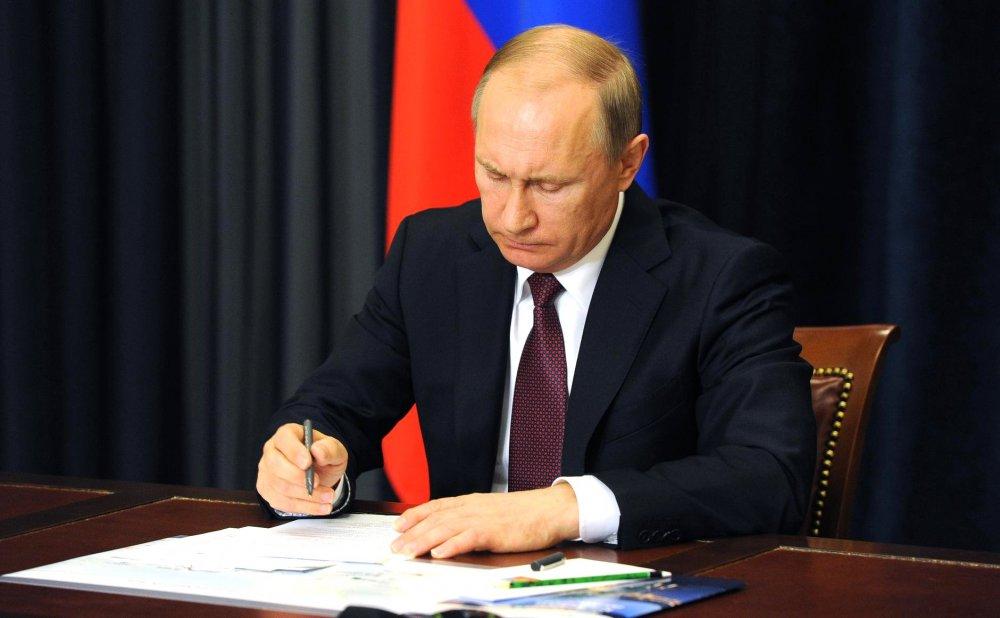 Путин сказал: «До побачення!» - О еще одном новом указе президента России