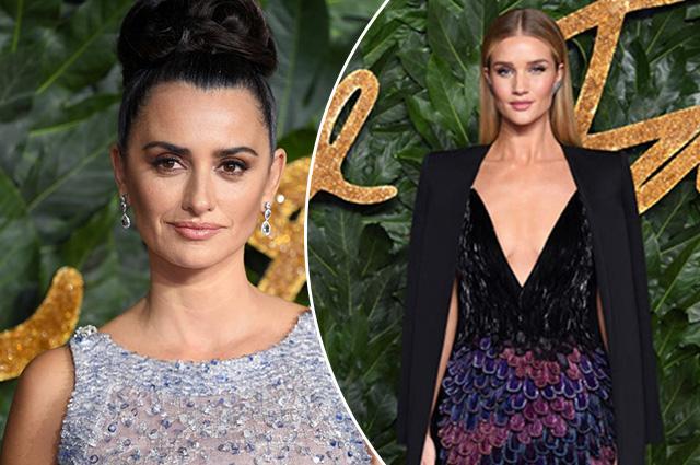 Пенелопа Крус, Рози Хантингтон-Уайтли и другие: выбираем лучший образ на Fashion Awards — 2018