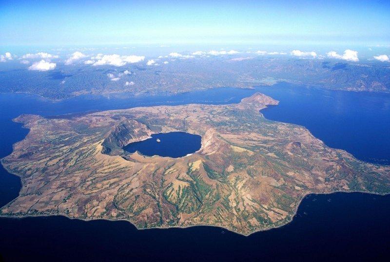 Тааль. Филиппины вулкан, вулканы, вулканы фото, природная катастрофа