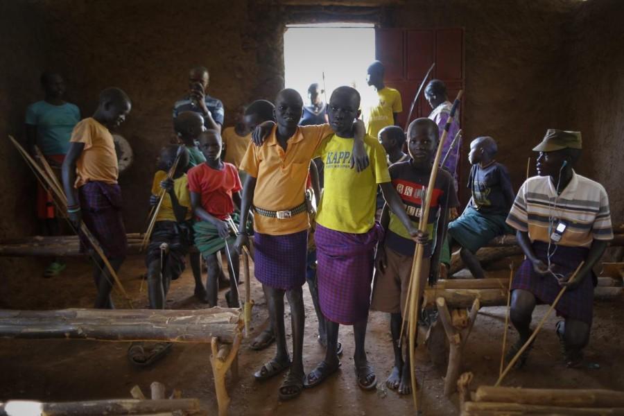 Лучники племени Покот из Кении