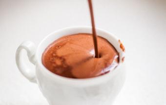 Кофе с шоколадом и бренди