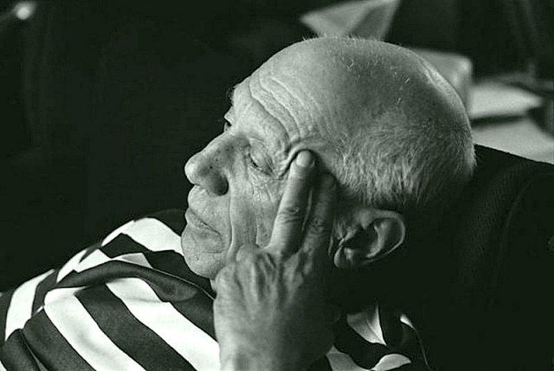 Рене Бурри - Пабло Пикассо, Вилла Ла-Калифорния, Канны 1957 Весь Мир в объективе, история, фотография