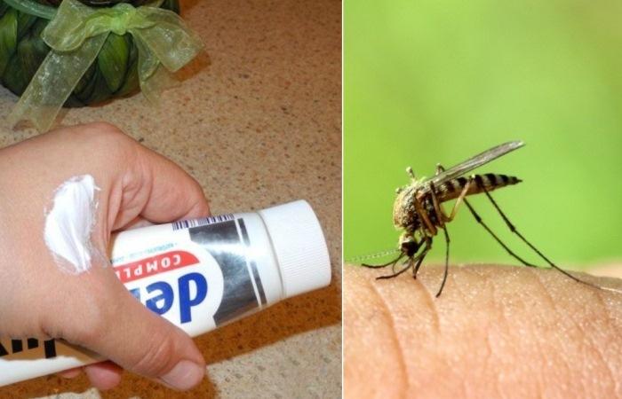 Как вылечить укус комара