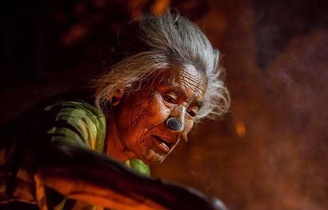 Удивительные обычаи индийского племени