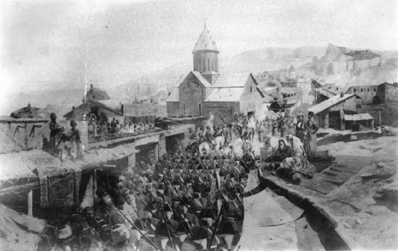 Как Грузия меняла «хозяев» история