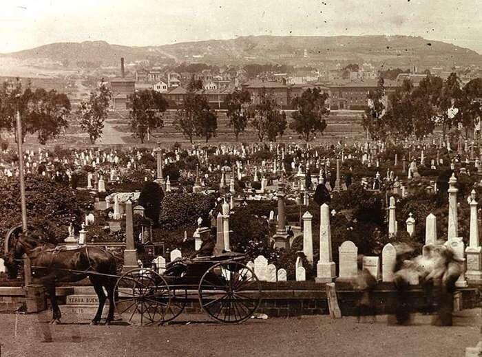 Кладбище Odd Fellows, фото конца XIX века девочка, доброта, интересно, история, наука