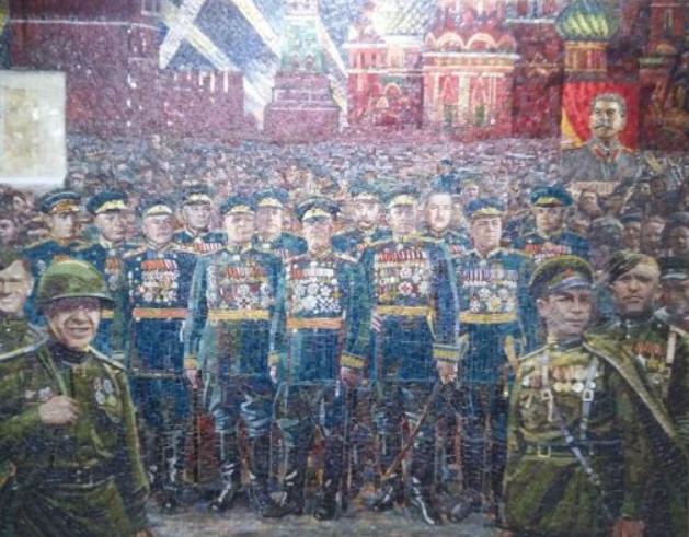 """Общество """"Двуглавый Орел"""" об изображении Сталина на мозаике в главном храме Вооруженных сил России"""