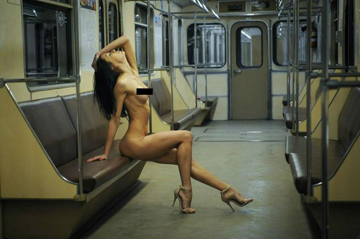 Как мы снимали ню в метро