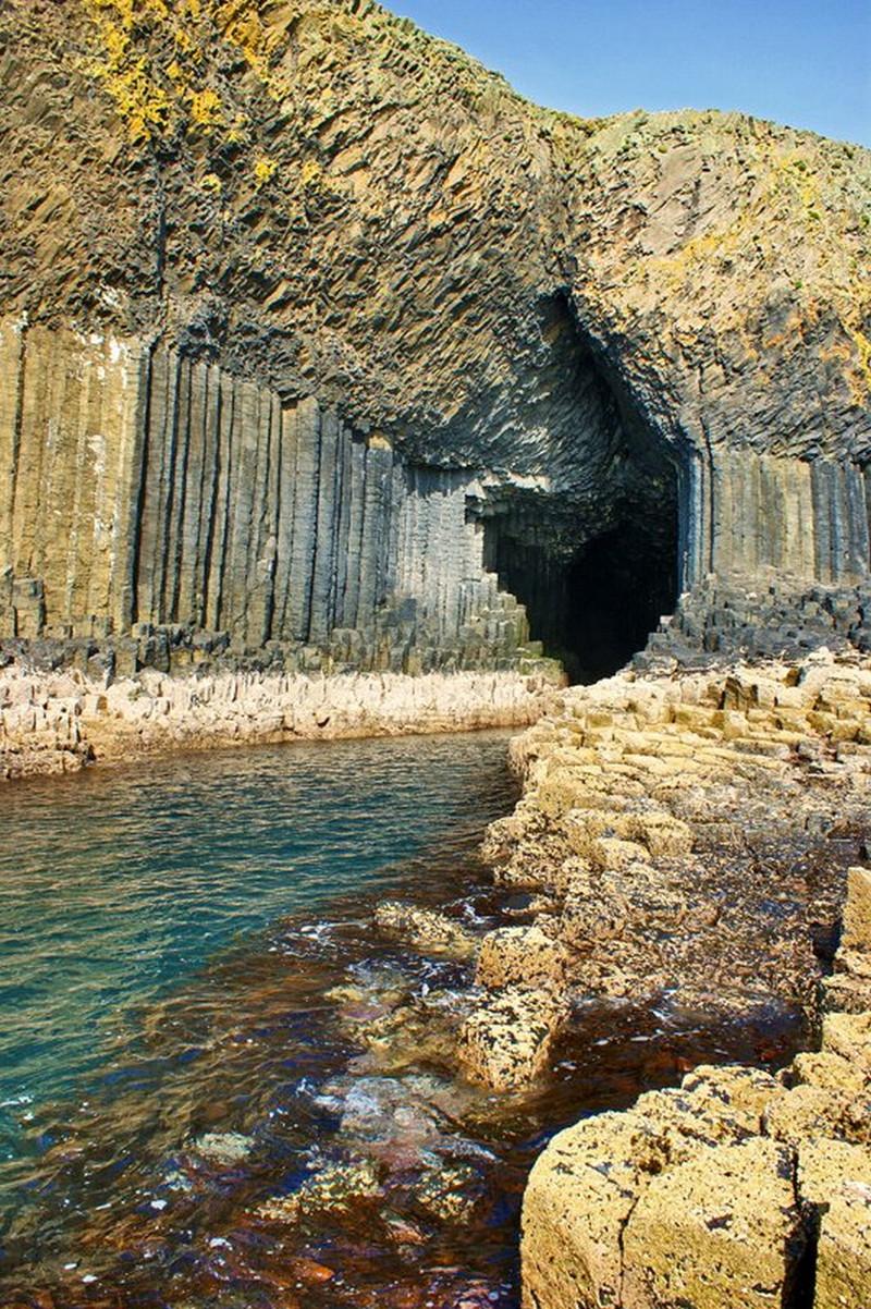 10. Фингалова пещера, Шотландия красота, мир, природа