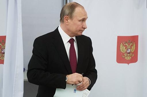 В штабе Путина «поблагодарил…