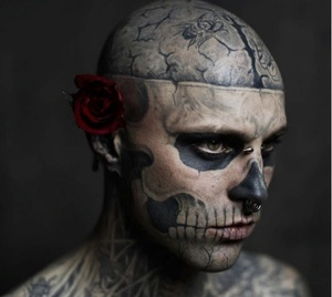 Тату-модель Zombie Boy умер в Канаде