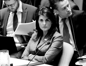 Хейли назвала условие возвращения США в СПЧ ООН