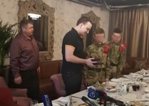 Дмитрий Ионин, автомат(2019) Фото: facebook.com/ionin.dmitriy