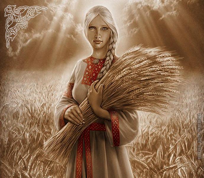 Славянская Богиня Леля — Богиня Весны