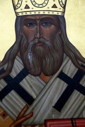 В Хабаровске «заплакала» икона святителя Иннокентия Московского