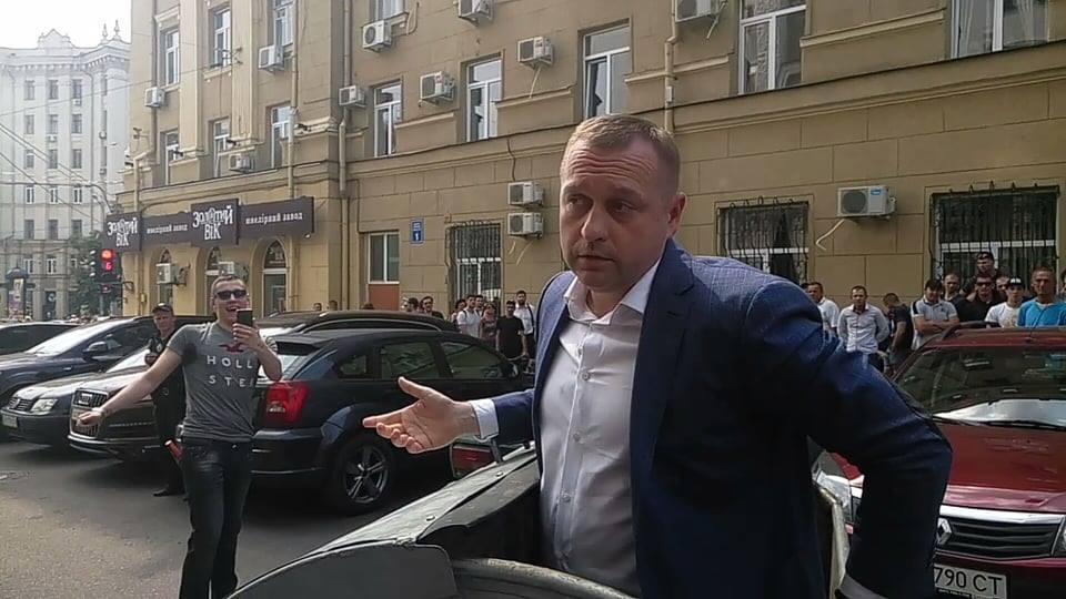 """""""Мусорная люстрация"""" в Харькове"""