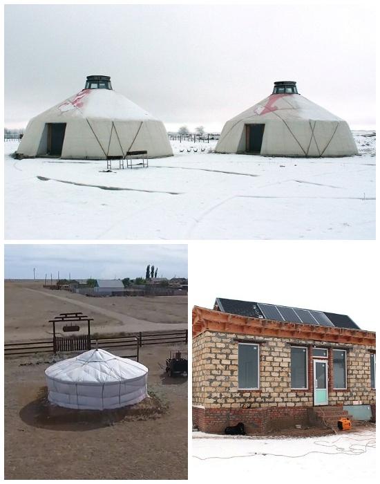 Этнографический туристический комплекс «Теегин гер» уже готов на 80 % (Калмыкия).