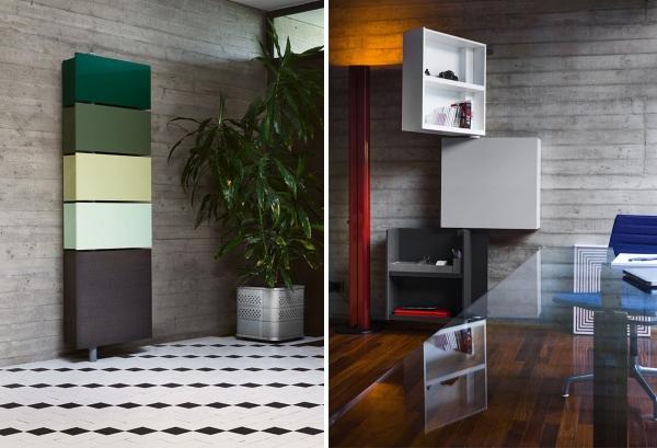 Многофункциональная мебель трансформер - шкаф или полки