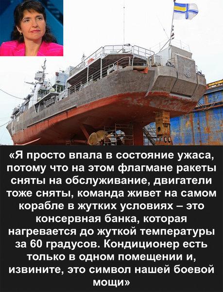 Украинские пограничники боятся приближаться к российским кораблям в Азовском море