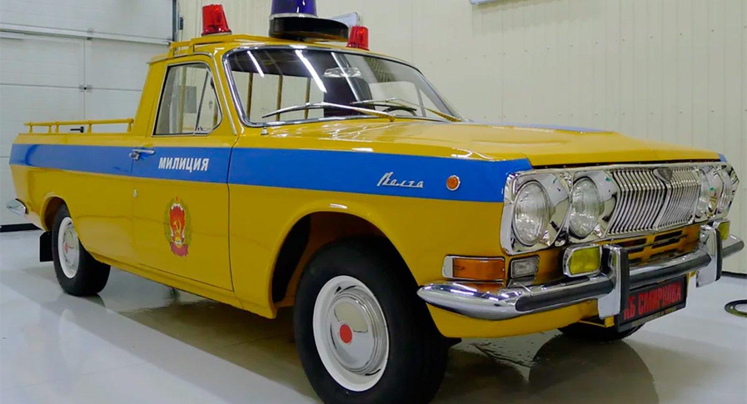 На продажу выставили очень редкий пикап «Волга» 1979 года за ₽5 млн Автомобили