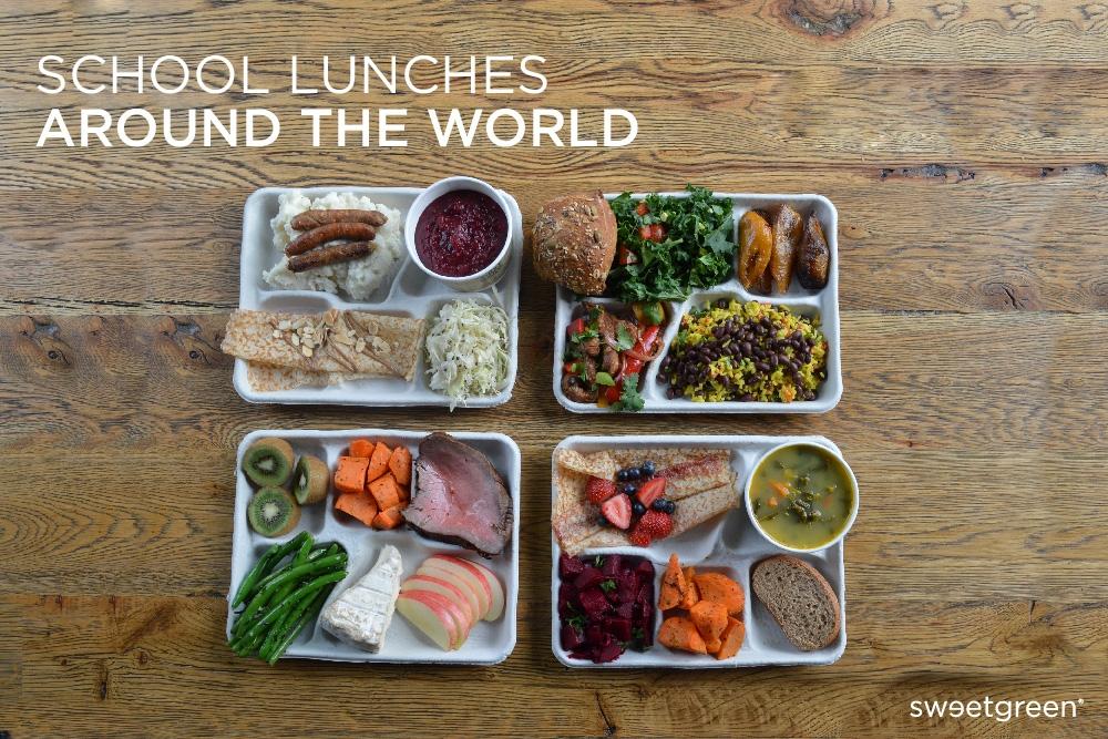 Школьные обеды в разных странах мира ланч, обед, рацион, школа, школьный обед