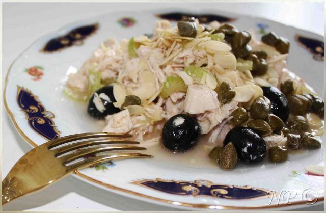 Салат Легкий- курица с сельдереем -