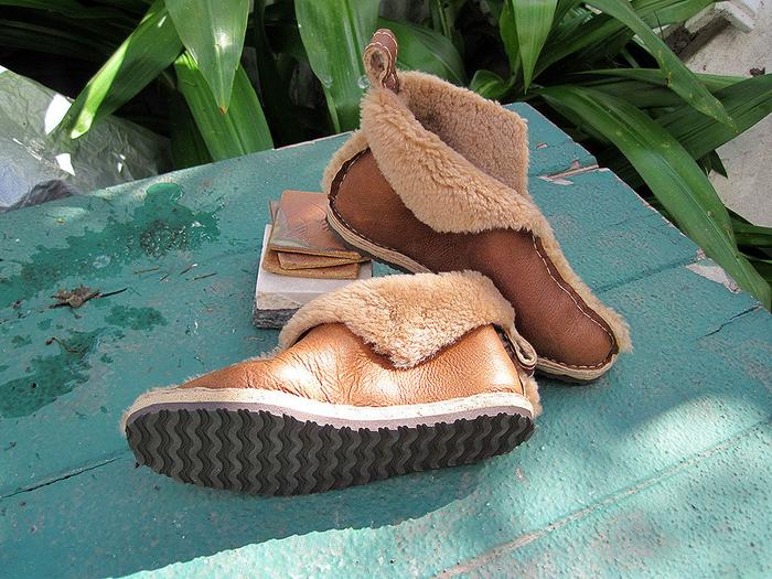 Домашняя обувь своими руками схемы 64