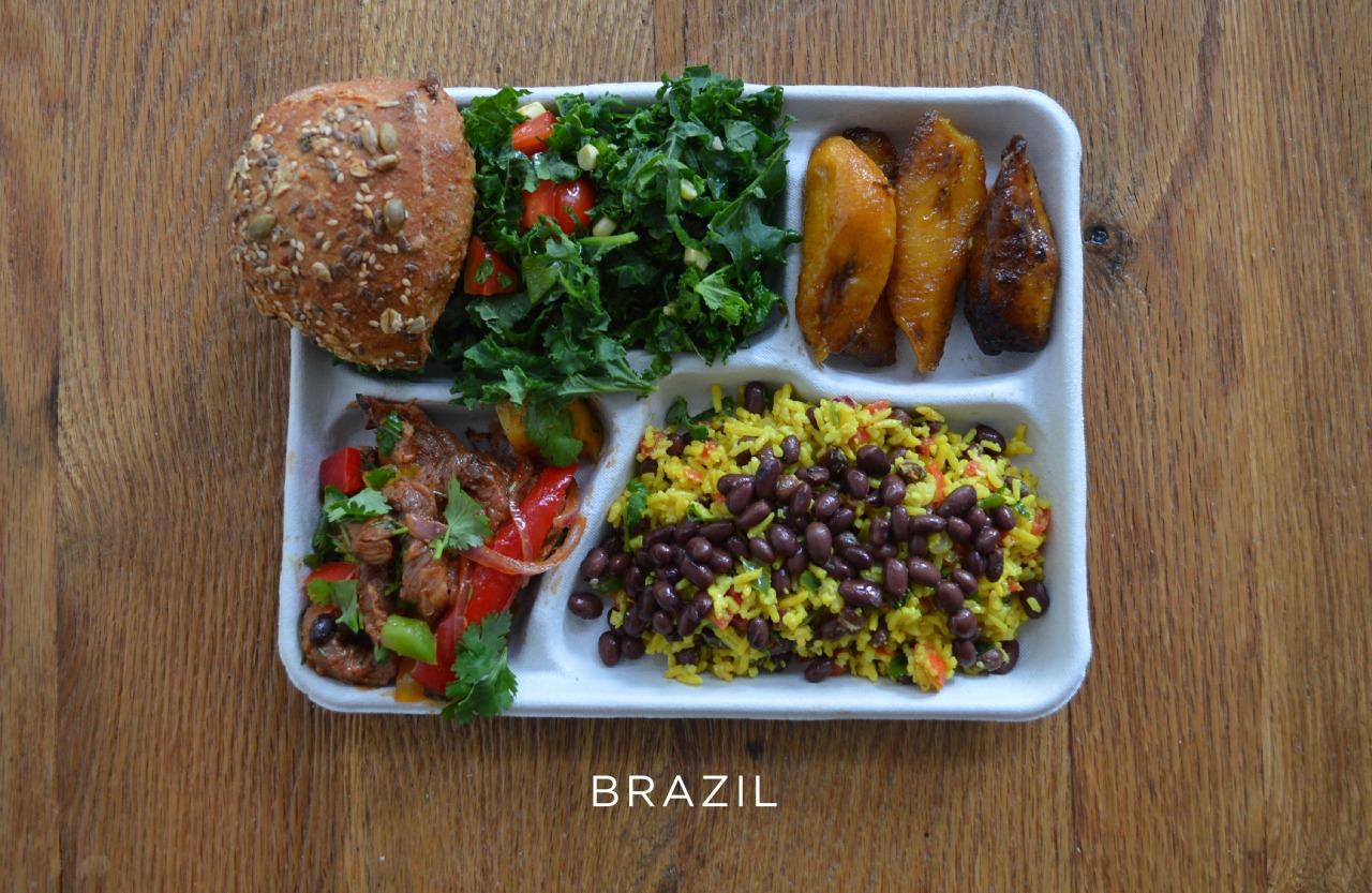 Бразилия ланч, обед, рацион, школа, школьный обед