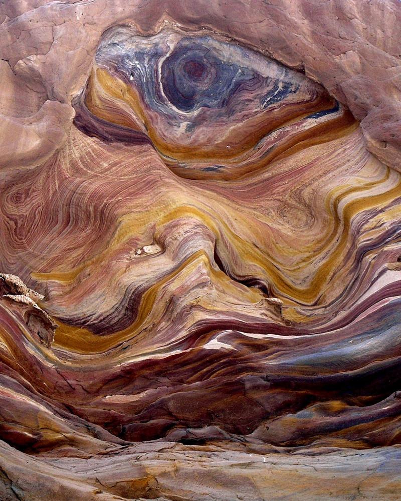 6. Цветной каньон, Синай, Египет красота, мир, природа