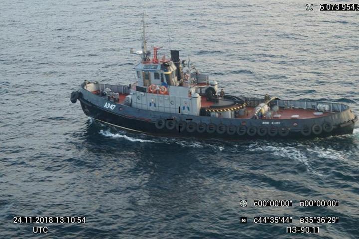 Капитан украинского корабля «забыл» мову и перешел на русский при захвате